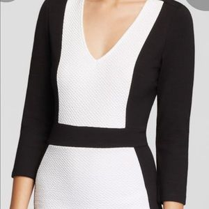 French Connection Dresses - French Connection Color Block Bodycon Dress